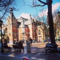 Photo taken at Leidseplein by Riccardo R. on 3/18/2013