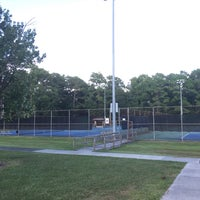 Photo taken at Althea Gibson Tennis Complex by Andrew on 8/19/2016