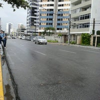 Photo taken at Avenida Bernardo Vieira de Melo by Cínthya K. on 3/18/2013