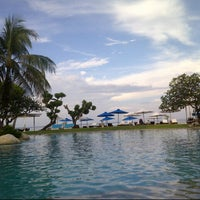 Photo taken at Grand Aston Bali Beach Resort by Kertowijoyo on 5/13/2013