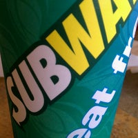 Photo taken at SUBWAY by Fred S. on 5/25/2013