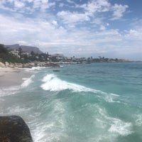 Photo taken at Clifton 2nd Beach by Petya R. on 11/2/2017