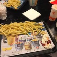 Photo taken at Taksim McDonald's by Agah Ş. on 10/10/2016