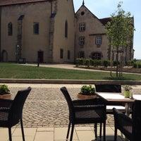 Photo taken at Hotel Kloster Haydau by Alexandra R. on 8/6/2015