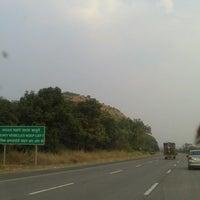 Photo taken at Mumbai Pune Expressway by Priyanka J. on 11/3/2012
