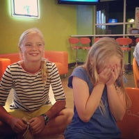 Photo taken at Orange Leaf by Dan S. on 9/14/2013
