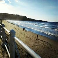 Photo taken at Playa de Salinas / San Juan de Nieva by il_a on 10/28/2012