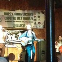 Photo taken at Capital Ale House by Ashley R. on 12/14/2012