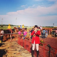 Photo taken at Lone Star Park by Brian H. on 4/27/2013