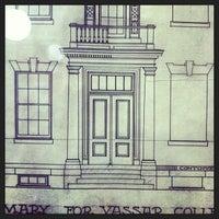 Photo taken at Vassar College by Sara D. on 10/19/2013