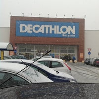 Photo taken at Decathlon by Andrea on 1/19/2013