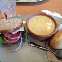 Photo taken at Panera Bread by Banu on 10/23/2012