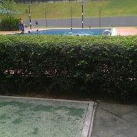 Photo taken at Swimming Pool Anggun Apartment by Izat R. on 8/23/2015