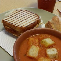Photo taken at Panera Bread by Lady R. on 8/27/2014