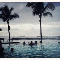 Photo taken at Potato Head Beach Club by Cyril M. on 1/6/2013