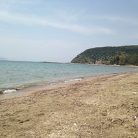 Photo taken at Agia Varvara Beach by Nikos S. on 5/3/2013