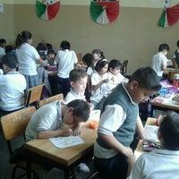 Photo taken at Escuela Reyes Y Reyes by Edgar C. on 9/28/2012
