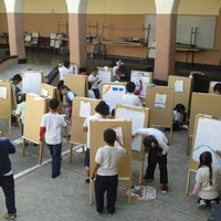 Photo taken at Escuela Reyes Y Reyes by Edgar C. on 9/23/2013