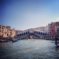 Photo taken at Canal Grande by Martin on 6/1/2013