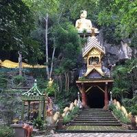 Photo taken at วัดถ้ำสุขเกษมสวรรค์ by Pusuda S. on 6/11/2017