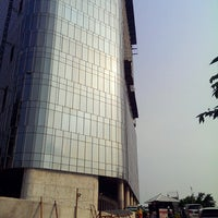 Photo taken at PT Telkom Landmark Tower by MadonyaVictor Z. on 9/3/2014