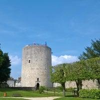 Photo taken at Château de Dourdan by Andy D. T. on 9/7/2014