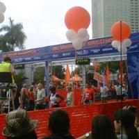 Photo taken at 10th ING Miami Marathon (Full & Half-Marathon) by Mike M. on 1/29/2012