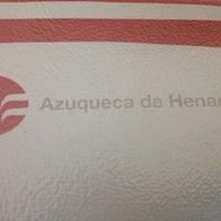 Photo taken at Ayuntamiento Azuqueca de Henares by Sandra Y. on 8/31/2012