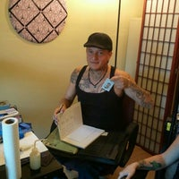 Photo taken at Tattoo Party Hang Out Spot by Piper V. on 11/19/2011