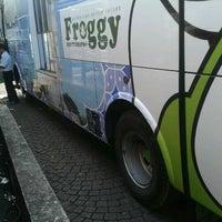 Photo taken at Terminal Feeder Busway Trans BSD by Novika D F. on 12/2/2011
