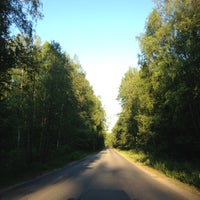Photo taken at Громово by Вероника on 6/9/2012