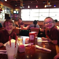 Photo taken at Red Robin Gourmet Burgers by Jen S. on 4/26/2012