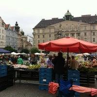 Photo taken at Zelný trh by Filip S. on 9/29/2012
