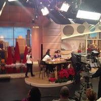 Photo taken at Windy City LIVE @ WLS ABC7 Studios by Rundell on 12/9/2013