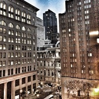 Photo taken at Philadelphia Marriott Downtown by Jessica G. on 1/15/2013