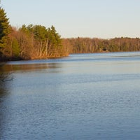 Photo taken at Gilmore Pond by Barry on 2/23/2013