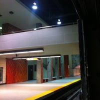 Photo taken at STM Station Rosemont by J Nicolas B. on 2/26/2013