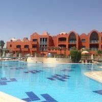 Photo taken at Pool at Sheraton Miramar Resort El Gouna by Marley X. on 5/9/2013