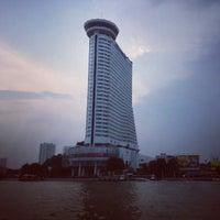 Photo taken at Millennium Hilton Bangkok by บี๋ ช. on 9/30/2012
