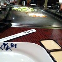 Photo taken at Miyabi Japanese Steak House by Randy's Auto Repair on 12/16/2012