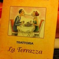 Photo taken at Trattoria La Terrazza by Leevey on 2/23/2013