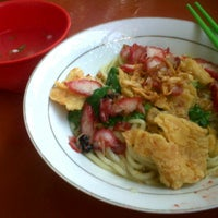 Photo taken at Mie Bagan Perapat by ElisaBudiarty on 9/23/2012