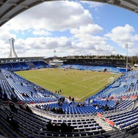 Photo taken at Stade Saputo by Toyota Park on 4/27/2013