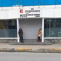 Photo taken at Pendik Hospitadent Diş Hastanesi by Hatice K. on 2/15/2017
