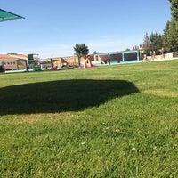 Photo taken at Piscina Municipal de Toro by Bea on 6/14/2014