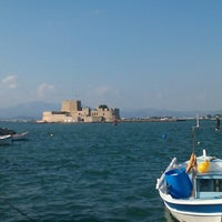 Photo taken at Port of Nafplio by Marianna M. on 10/21/2012