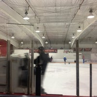 Photo taken at Oceanside Ice Arena by Nathan on 1/4/2013