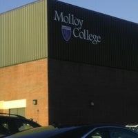 Photo taken at Molloy College by Marta S. on 10/22/2012