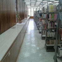 Photo taken at Biblioteca Central Luis David Cruz Ocampo by Aldo H. on 11/15/2012