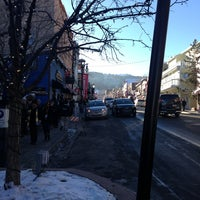 Photo taken at Historic Park City Main Street by James P. on 1/19/2013